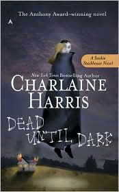 If you haven't read this series...shame on you!  I was so anti-vampire book, that it took me forever to read them, but when I finally did, I drug along some more people with me!  My sister, and her co workers...I have gotten hooked on the show too, but we wait until the next season and buy the series