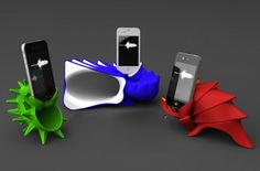 3D Printed Symphony Shells Amplify iPhone Tunes Naturally