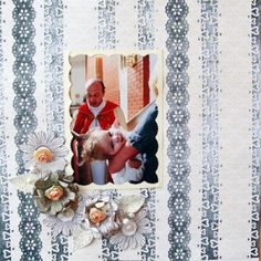 Baptism layout by Karmeleiro. Papers: Winter Elegance #2 and Hectic Eclectic #6.