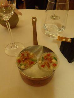 Arroz de marisco, frango assado, feijoada / shellfish rice, roasted chicken, bean stew (2013) @ Restaurant Belcanto