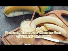 Mix Bananas, Honey And Water — Coughs And Bronchitis Will Disappear!