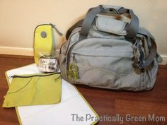 Okiedog Shuttle Diaper Bag review from Allie the Practically Green Mom @Allie