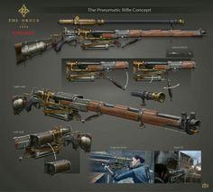 Pneumatic Rifle.