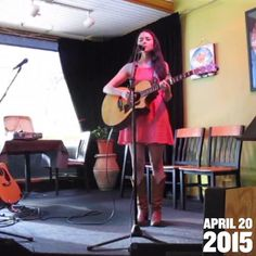 Exactly one year ago today I scraped together every ounce of courage I could find and stepped on the stage at NeWorlDeli to play at an open mic in front of a bunch of total strangers for the very first time.  I am so very grateful to the wonderful and supportive family of friends and musicians I've discovered since and can't wait to see what this next year has in store! #yearago #songwriter #openmicnight #nicholewagner #onward