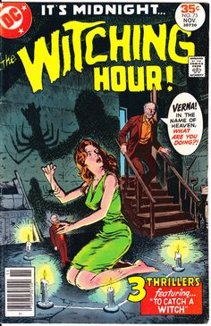 The Witching Hour 75 Witches Creepy Tales Horror comic