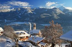 Carano, la mattina dopo la nevicata.  www.visitfiemme.it