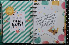 All About Scrapbooks - Simple Stories Carpe Diem - Planner Love by Fiona Johnstone