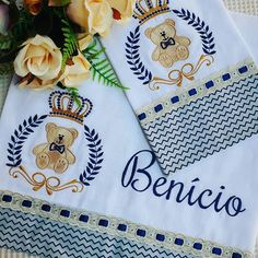 Miguel Angel, Patches, Embroidery, Baby, Modern Crib, Towel Set, Sew Baby, Embroidery Machines, Needlepoint