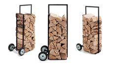 "firewood rack and trolley ""Brændevogn"" - JANZONprojects"