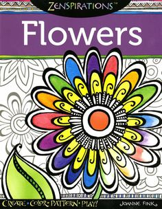 Zenspriations Flowers - Softcover By Fink, Janne