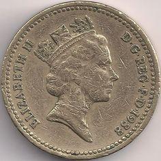 Motivseite: Münze-Europa-Westeuropa-Vereinigtes Königreich-Pound-1.00-1988