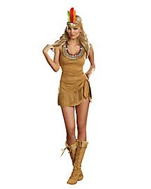 Adult Queen of the Tribe Native American Costume