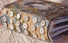 Art Journal Inspiration. DJ Pettitt. Spine and Front Cover | Flickr - Photo Sharing!