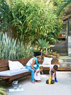 House & Garden > Natural instinct: Brisbane open-plan :ninemsn Homes Texture and height