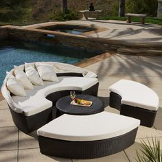 Found it at Wayfair - Sancho Canopy 4 Piece Lounge Seating Group with Cushion