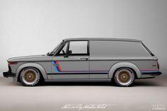 BMW 2002 Turbo Panel Wagon Concept | Photoshop Chop by Sebastian Motsch (2016)