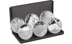 Six Silver Medals to Honor Earth Day Liberty Coin & Currency