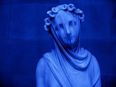 """Veiled Vestal"" by Raffaelle Monti Veiled Vestal by Raffaelle Mon. - ""Veiled Vestal"" by Raffaelle Monti Veiled Vestal by Raffaelle Monti - Aesthetic Colors, Aesthetic Photo, Aesthetic Pictures, Blue Aesthetic Grunge, Azul Pantone, Color Explosion, Orange Pastel, Color Celeste, Everything Is Blue"