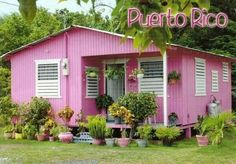 Little homes you find in Puerto Rico