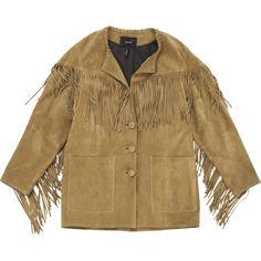 Isabel Marant Fringe Suede Jacket | Vestiaire Collective