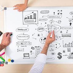 MOB Whiteboard - 10 Größen wählbar - mit Alurahmen, magnetisch: Amazon.de: Bürobedarf & Schreibwaren