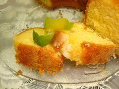 melhor bolo de laranja que eu já comi