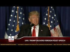 Full Event: Donald Trump Speaks on Foreign Policy in Washington, DC - YouTube this covers all the ways Trump will make America strong again, including putting Americans first before citizens of other countries.