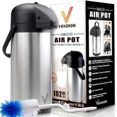 """<p><strong>Here's a great way to serve coffee</strong> or any other beverage<br /> at your next dinner, party or other event.<br />With these <strong>insulated dispensers</strong>, you can make the coffee or tea ahead of time,<br /> and at the end of the evening it will still be fresh and piping hot.<br /> No need for the hostess to ask """"who wants coffee or tea?"""" and then<br /> disappe..."""