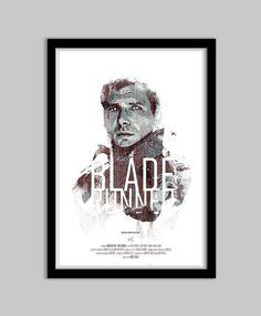 Blade Runner  12x18 Movie Poster  blade runner by DukeDastardly, $18.00