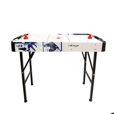 Dunlop Air Hockey Table Mains Operated Fan Indoor Fun Sport Game The Dunlop Air Hockey Table is great fun for both adults and kids and is perfect for challenging your friends to a match in your home. This Dunlop Air hockey table has a (Barcode EAN = 5054636388396) http://www.comparestoreprices.co.uk/december-2016-3/dunlop-air-hockey-table-mains-operated-fan-indoor-fun-sport-game.asp