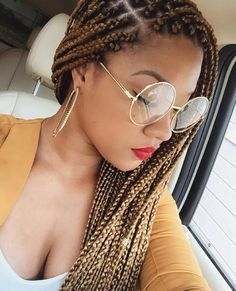 """780 Likes, 19 Comments - Box Braids (@bestboxbraids) on Instagram: """"@misscarradine #braids #boxbraids #bestboxbraids"""""""
