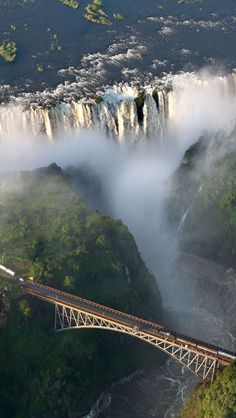 Victoria Falls in Zambia and Zimbabwe, Africa | by worldtraveltribe.com