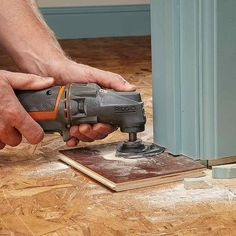 Oscillating tools work have a side-to-side movement and are a great versatile power tool for many home improvement, DIY or woodworking projects. Learn more about what you can do with your oscillating tools.