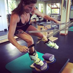 Are you ready for ski season!! Summer training paying off! @cotapilates #workhard #playhard. #balancedbody #funolympics