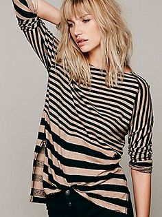 We The Free Tight Wire Tee at Free People Clothing Boutique