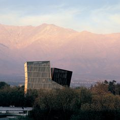 Alejandro Aravena - Siamese Towers at the San Joaquín Campus, Universidad Católica de Chile, Santiago, 2005
