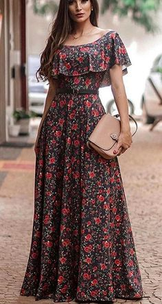 Clothes Fashion Business all Boho Style Festival Outfits. Fashion Nova Clothes For Work Stylish Dresses, Simple Dresses, Elegant Dresses, Casual Dresses, Dresses With Sleeves, Long Dress Design, Stylish Dress Designs, Dress Outfits, Fashion Dresses