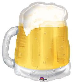 Add the Beer Mug Mylar Balloon to your #Oktoberfest bash.  Find this balloon and others at Shindigz!