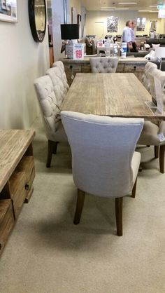 Table Chairs And Side Board Harvey Norman