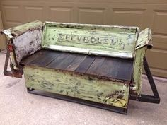 1000 images about Truck parts furniture on Pinterest