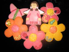 Galletas de flores y hadas Minnie Mouse, Disney Characters, Flower Cookies, Faeries, Disney Face Characters