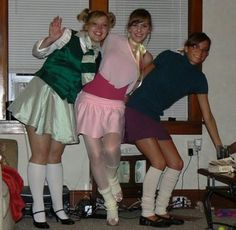 The chippettes @Stephanie James Next Halloween?? You, Kelly & I?! ;)