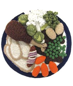 Crochet food nicely done