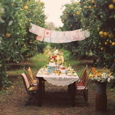 orchard party...