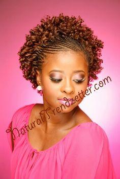 Flexi Combo www. Black Hair Updo Hairstyles, Natural Afro Hairstyles, Crochet Braids Hairstyles, African Braids Hairstyles, Braided Hairstyles, Natural Hair Short Cuts, Natural Hair Twists, Natural Hair Updo, Natural Hair Styles