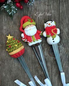 """Новогодние """"вкусные ложки"""", снеговик - новичок, выполнен впервые…"""