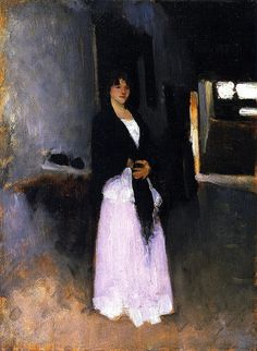 A Venetian Woman John Singer Sargent - circa 1880-1881 by BoFransson, via Flickr