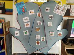 """venn diagram for """"The Mitten"""" books"""