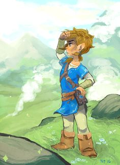 Breath of the wild by foxcrusade