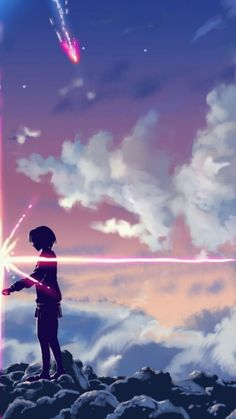 Mitsuha Miyamizu  E1 83 A6 By Makoto Shinkai Anime Wallpaper Have All Wallpaper From All Site Anime Popular Have More Anime Person As Anime Boy Girl
